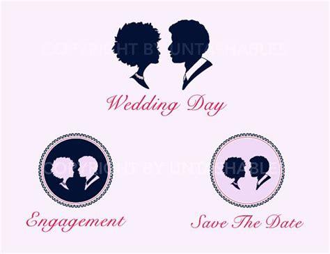 wedding couple illustration engagement  untashables