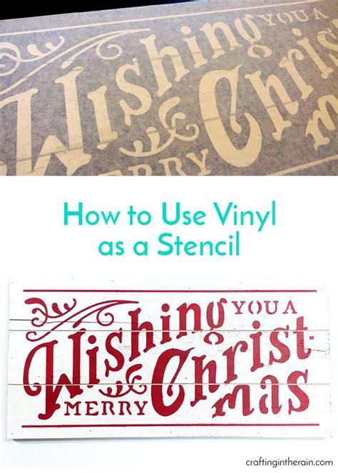 merry christmas sign cricut stencils stencil vinyl