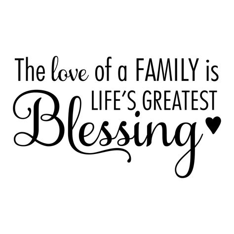 THE LOVE OF FAMILY – Stand Strong Ministries