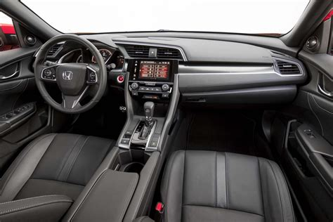 Honda Upholstery by 2017 Honda Civic Hatchback Starts At 20 535 Automobile