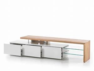 Lowboard Weiß Eiche : lowboard alessa i 204x40x44 cm wei eiche tv board tv m bel schrank kaufen bei vbbv gmbh co kg ~ Eleganceandgraceweddings.com Haus und Dekorationen
