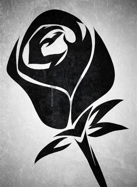 75+ Tribal Rose Tattoo Ideas & Designs