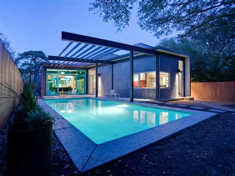 stylishly simple modern one story house design modern house designs