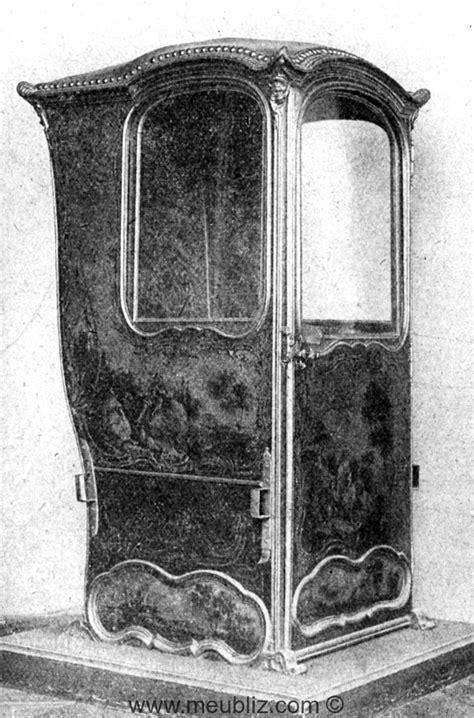 Chaise à Porteur Louis Xv  Meuble De Style