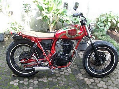 Modification Cb by Modification Honda Cb100 2014 The Motorcycle