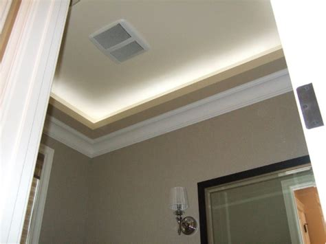 insulation around recessed lighting how to build a soffit box with recessed lighting the photo