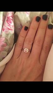 solitaire w diamond or plain wedding band With solitaire ring with plain wedding band