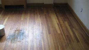 How to fix water damaged wood floor 2 the minimalist nyc for How to repair water stains on hardwood floors