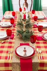 Christmas, Table, Ideas, U0026, Nutcracker, Tablescape