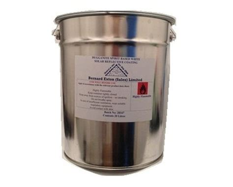 dugganite white solar reflective paint extons roofing