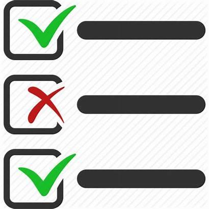 Check Icon Checklist Clipart Task Checkmark Ok