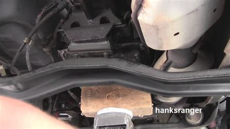 replace ford ranger automatic transmission mount youtube