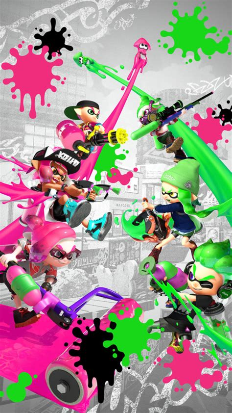 splatoon  wallpapers ninmobilenews