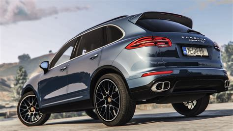 2016 Porsche Cayenne Turbo S [add-on / Replace]