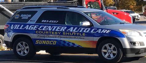 village center auto care expert auto repair