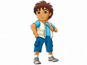 Cartoon Characters: Go Diego Go characters