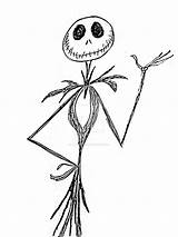Jack Skellington Drawing Coloring Pages Skeleton Jimenopolix Drawings Silhouette Printable Getdrawings Deviantart Tombancroft Scissorhands Edward Clipartmag Getcolorings Favourites sketch template