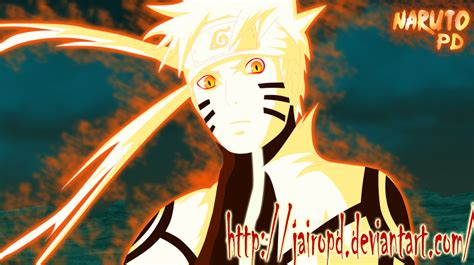 Naruto Modo Bijuu Fan Art By Jairopd On Deviantart