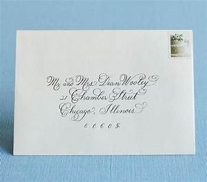 team wedding blog addressing wedding invitations and envelopes With addressing wedding invitations one envelope etiquette