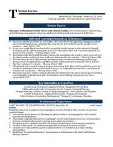 resumes for pastors sles senior pastor professional resume sle matt s survival stuff lol professional