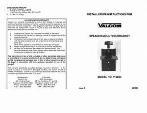 Valcom Speaker Wiring Diagram