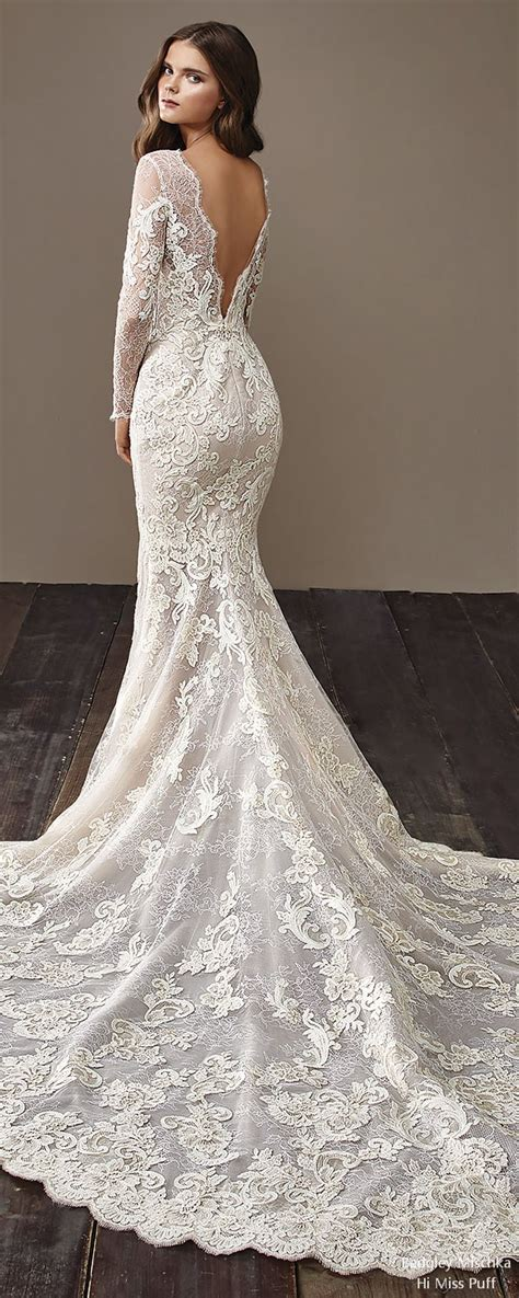 badgley mischka fall wedding dresses    puff