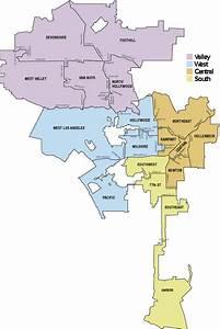 Los Angeles Police Jurisdiction Map