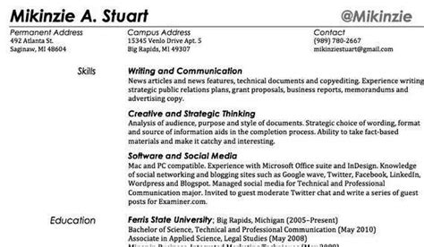Resume Creation Using Html by Adding Writing Skills On Your Resume