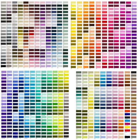 folkart color chart google search the world is filled