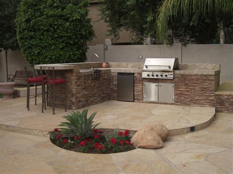 bbq outdoor kitchen islands this pre fabricated island is a outdoor kitchen