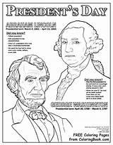 Presidents Coloring Lincoln Abraham Printable President Douglass Frederick Washington George Hat Pdf Abe Celebrate Coloringbook Designed sketch template
