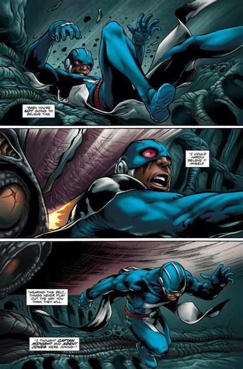 comics skyman shot dark horse profile