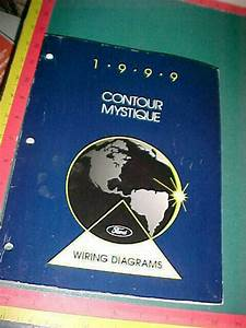 1999 Ford Contour Mercury Mystique Wiring Diagrams Manual