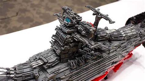 awesome fan  lego space battleship yamato gadgetsin