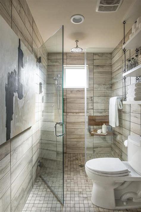 bathroom floor continues  shower cottage bathroom