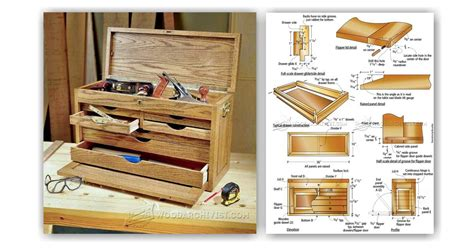 wainscoting kitchen cabinets tool chest plans woodarchivist 3303