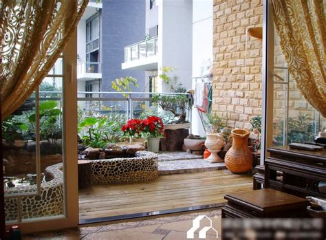 garden design ideas  balcony model home interiors