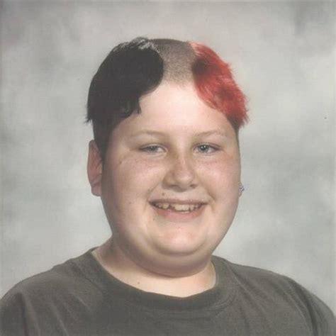 reverse mohawk hairstyle weird instagram haircut trend
