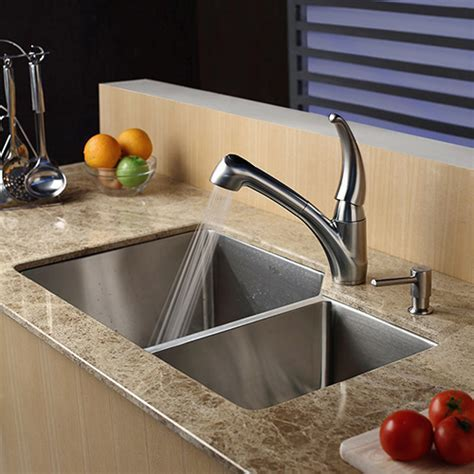 Kraus KPF 2110 Review   Single Lever Pull Out Kitchen Faucet