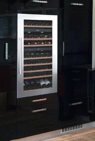 cuisine encastrer cave a vin encastrable intégrable et en pose libre