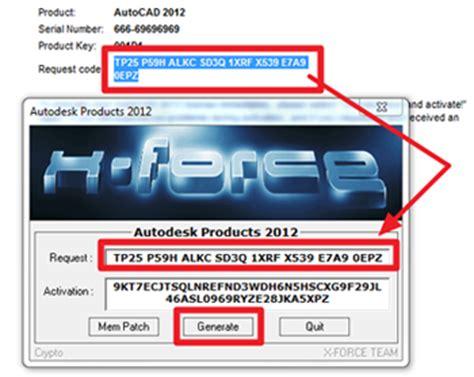 autocad 2012 xforce keygen download