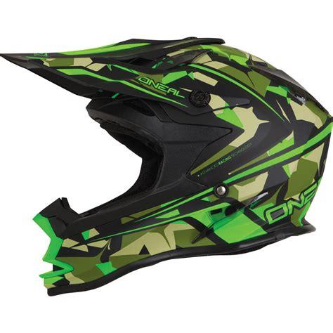 oneal motocross helmets oneal 7 series evo camo green motocross helmet mx off road