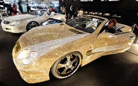 gold glitter car the vix is expensive option pit