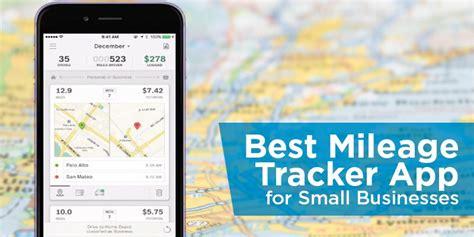 mileage tracker app  small businesses