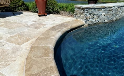 choose pool coping types materials appearance