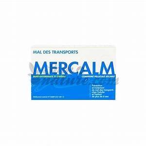 Buy Mercalm Mal Transports 15 Tablets In Pharmacy
