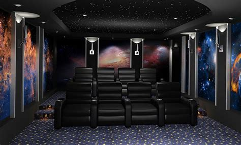 how to home theater diy space themed home theater ideas