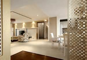 interior partitions for homes white style interior with wooden partition 3d house