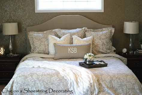 How To Build An Upholstered Headboard by Chic On A Shoestring Decorating How To Make An