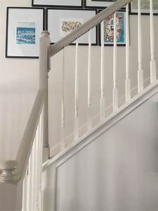 How I Used Chalk Paint to Update My Bannister
